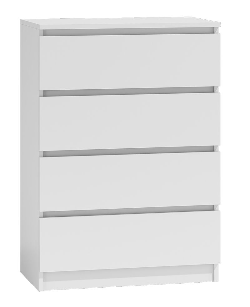 Moderna White - 4 Drawer